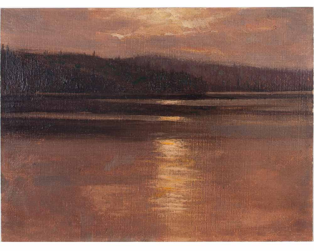 Sunset over Hills, 1912