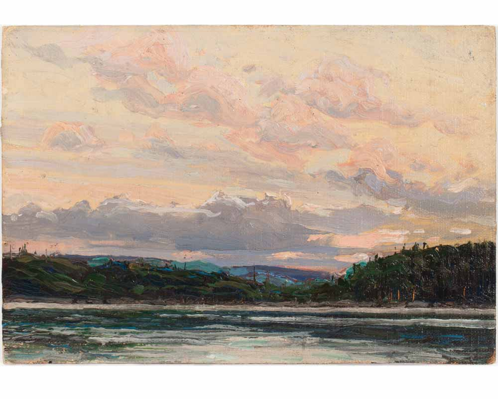 Northland Sunset, Summer or fall 1913