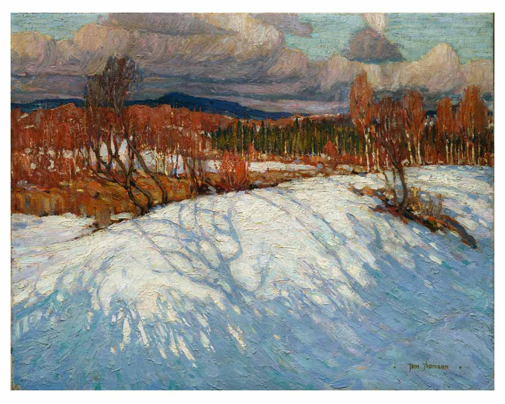 In Algonquin Park, Winter 1914–15
