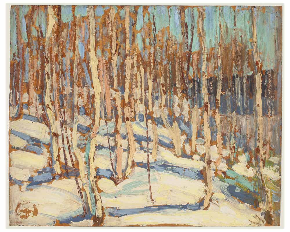 Birches, Fall 1914