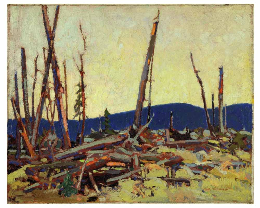 Burnt Land, Spring 1915