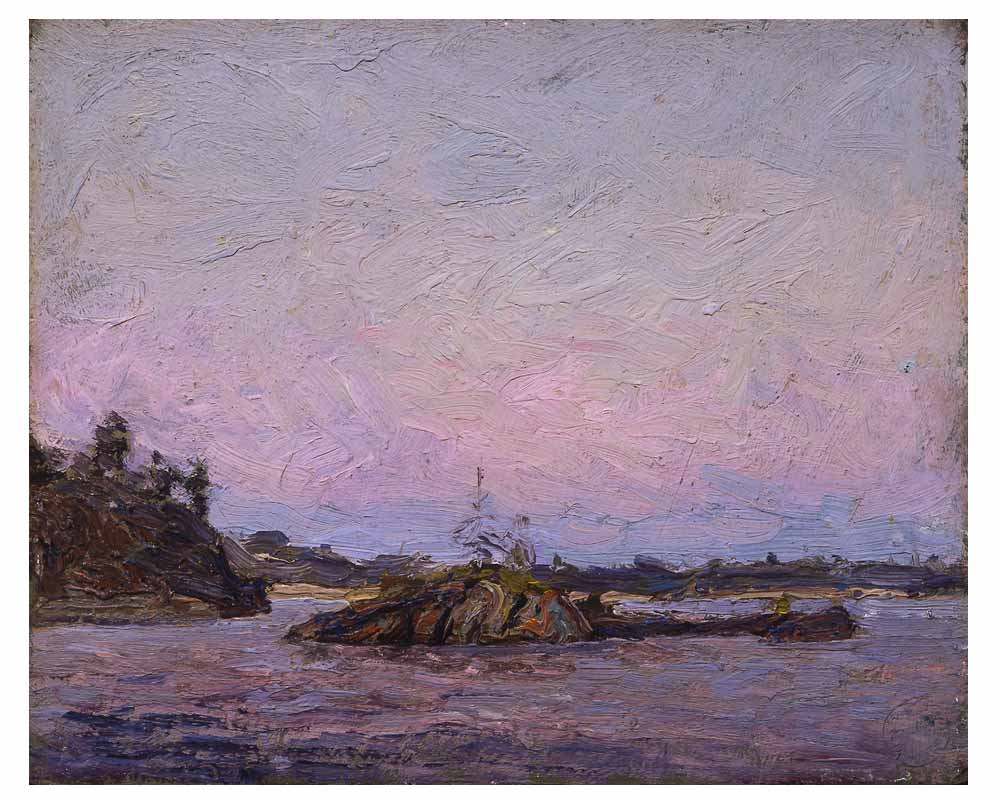 Georgian Bay, Near Dr. MacCallum's Island, Summer 1914