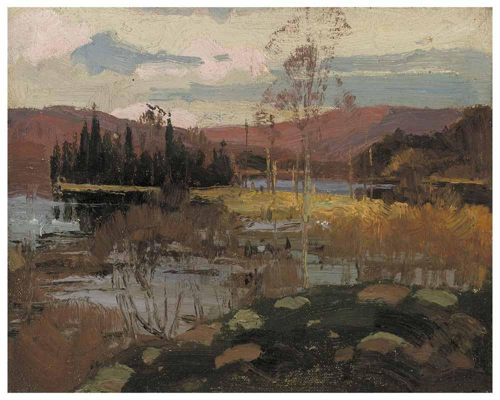Spring, Algonquin Park, Spring 1914