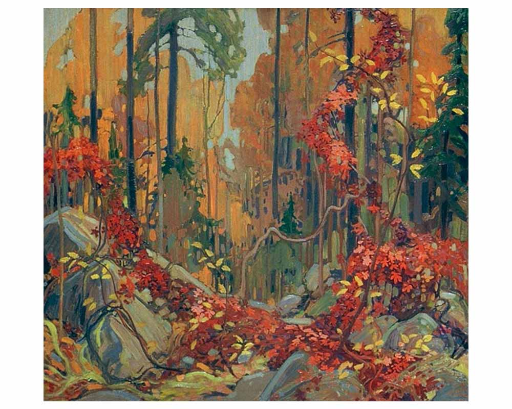 Autumn's Garland, Winter 1915–16