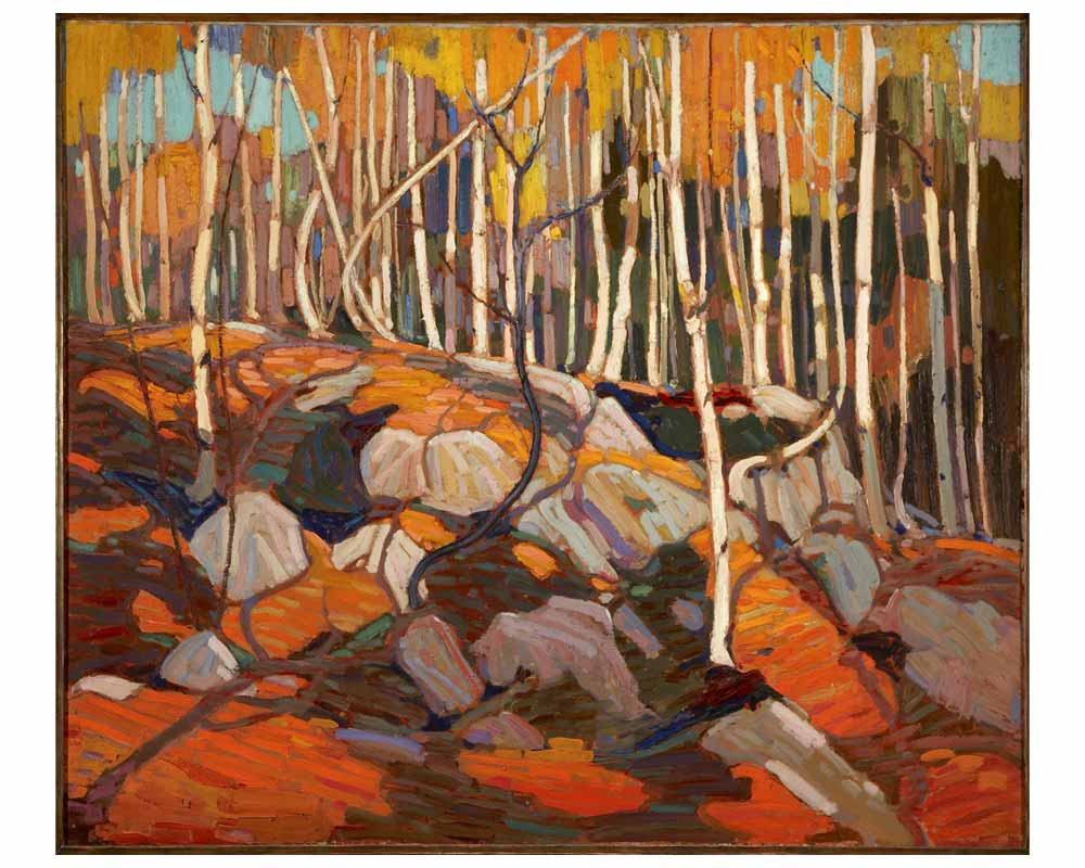 The Birch Grove, Autumn, Winter 1915–16