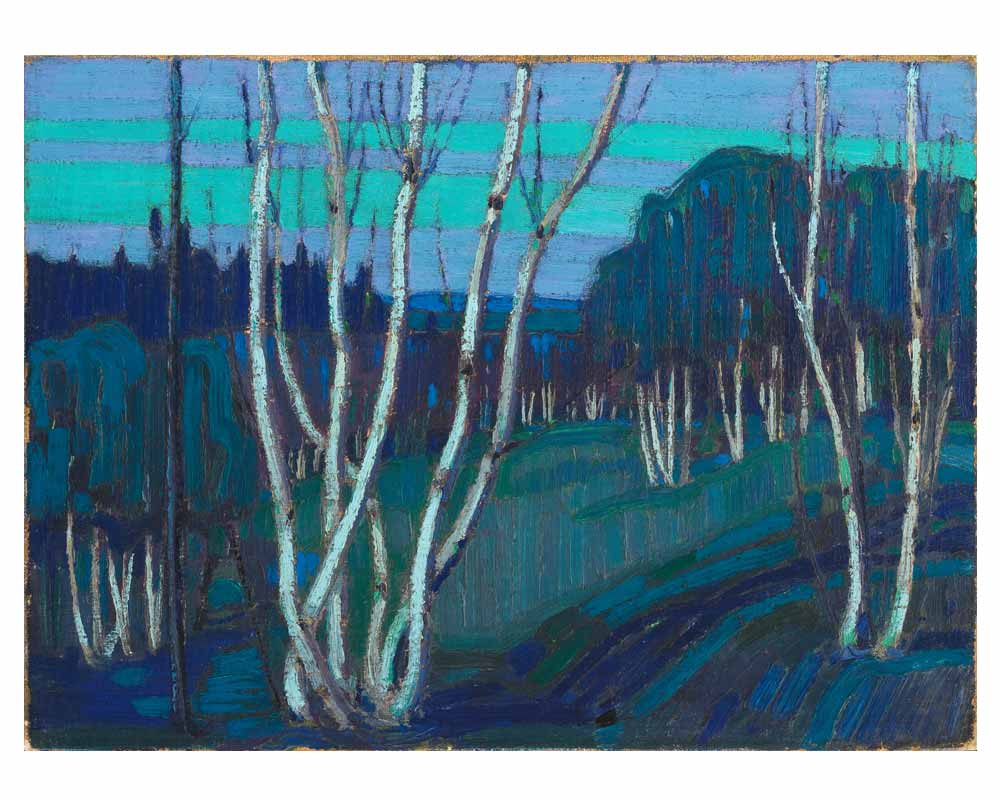 Silver Birches, Winter 1915–16