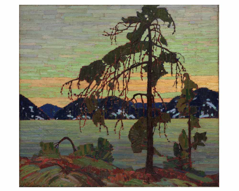The Jack Pine, Winter 1916–17