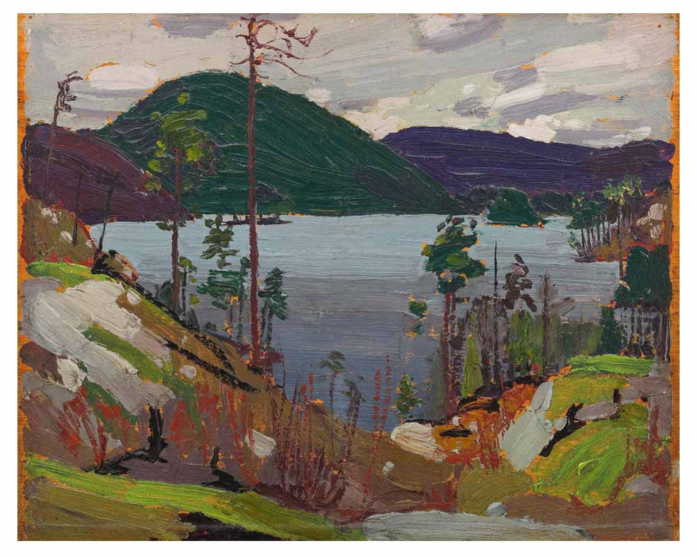 Aura Lee Lake, Spring 1916