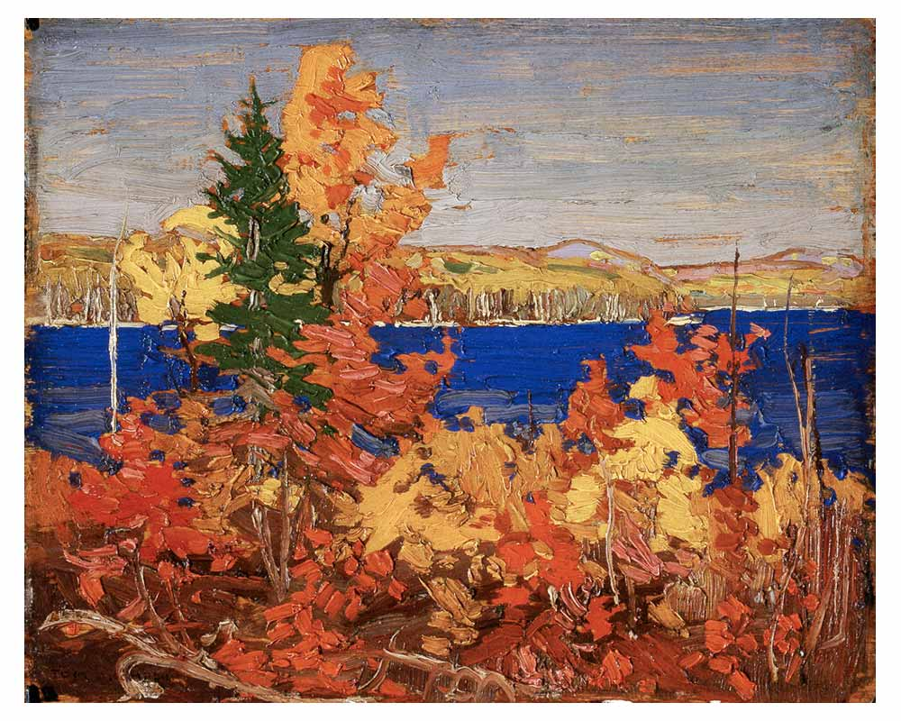 Autumn Foliage, Fall 1916