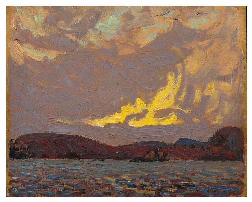 Canoe Lake, Algonquin Park, Fall 1916