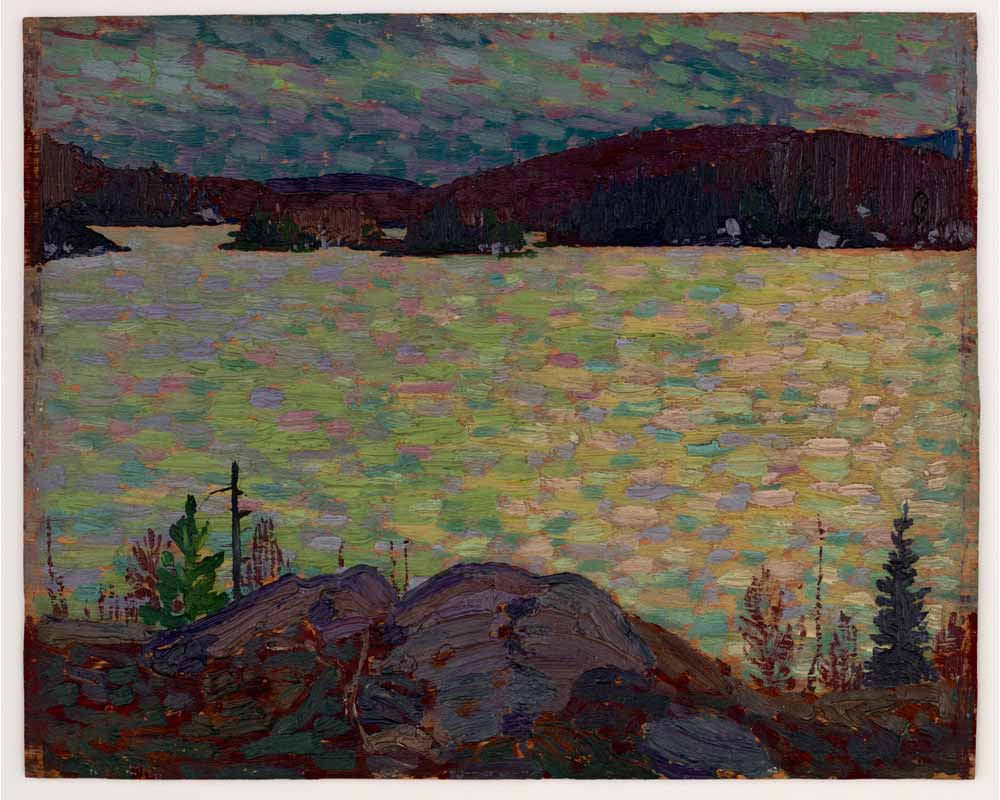 Islands, Canoe Lake, Spring 1916