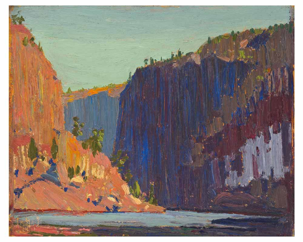 Petawawa Gorges, Fall 1916