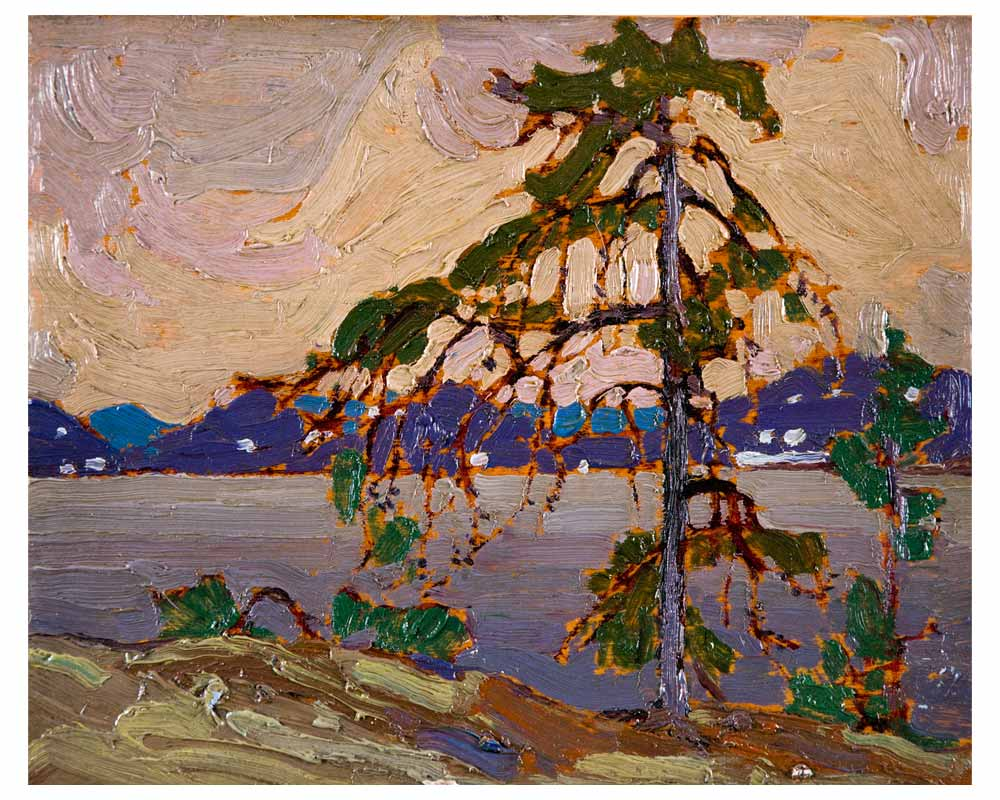 "Sketch for ""The Jack Pine"", Spring 1916"