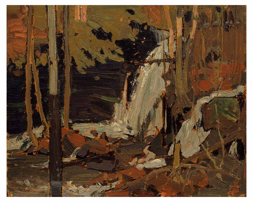 The Waterfall, Spring 1916