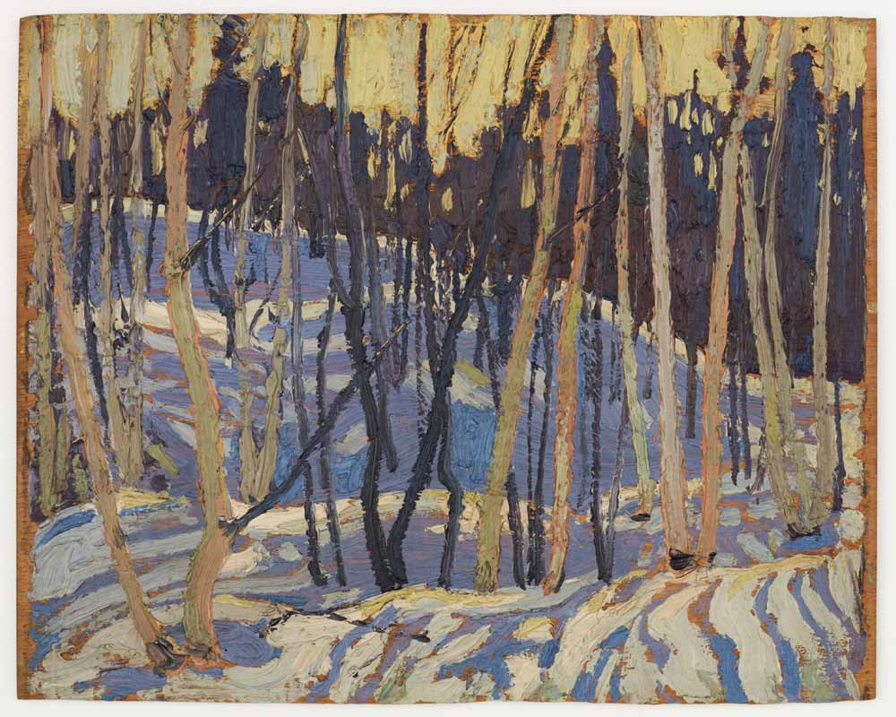 Snow Shadows, Spring 1916