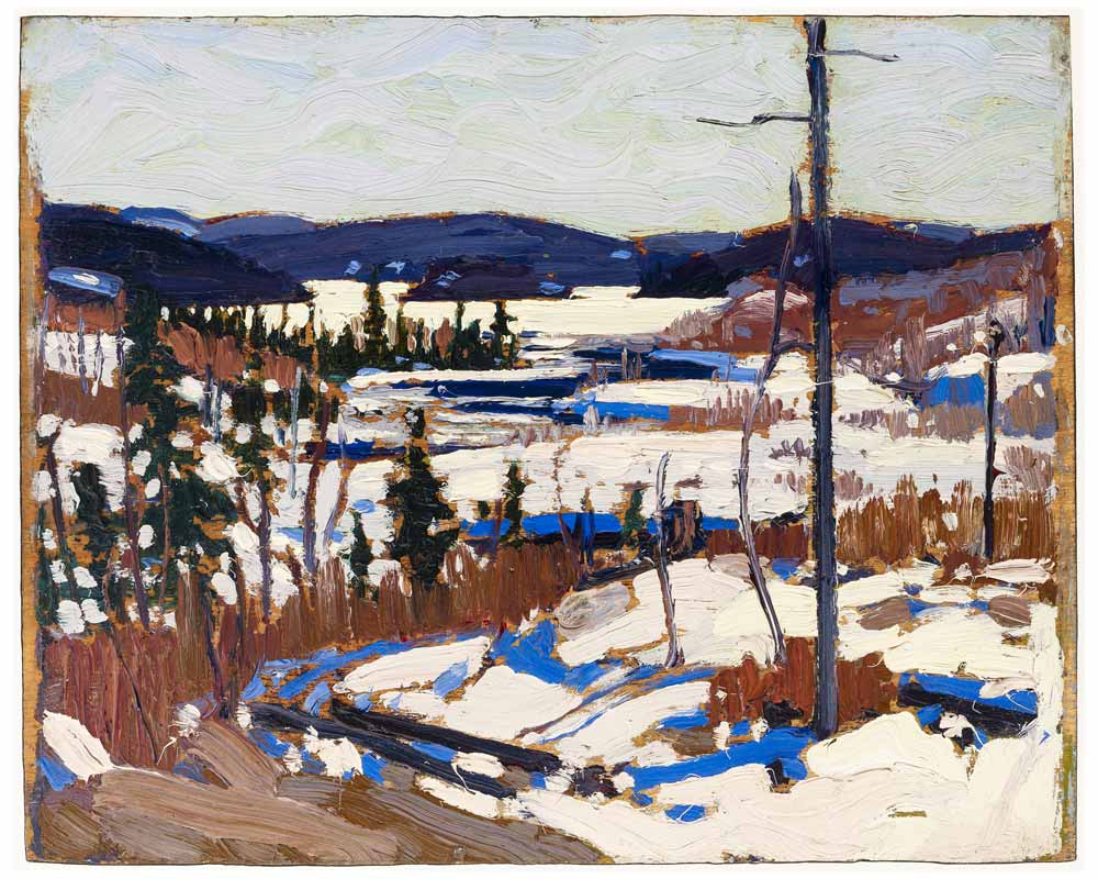 Early Spring, Canoe Lake, Spring 1917