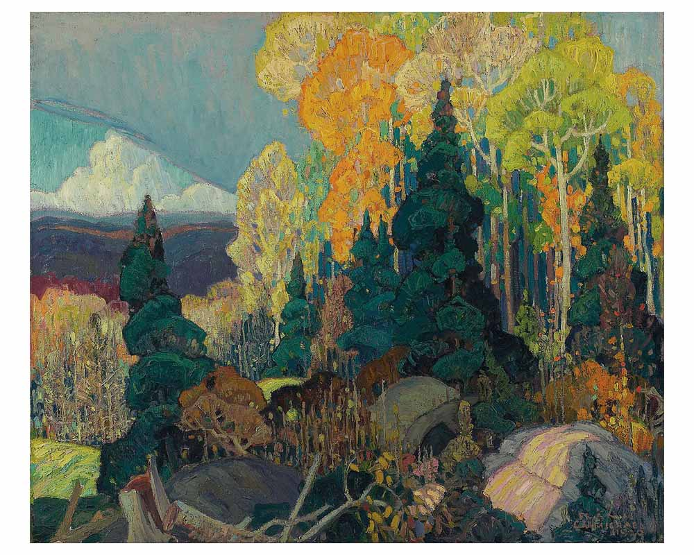 Autumn Hillside, 1920