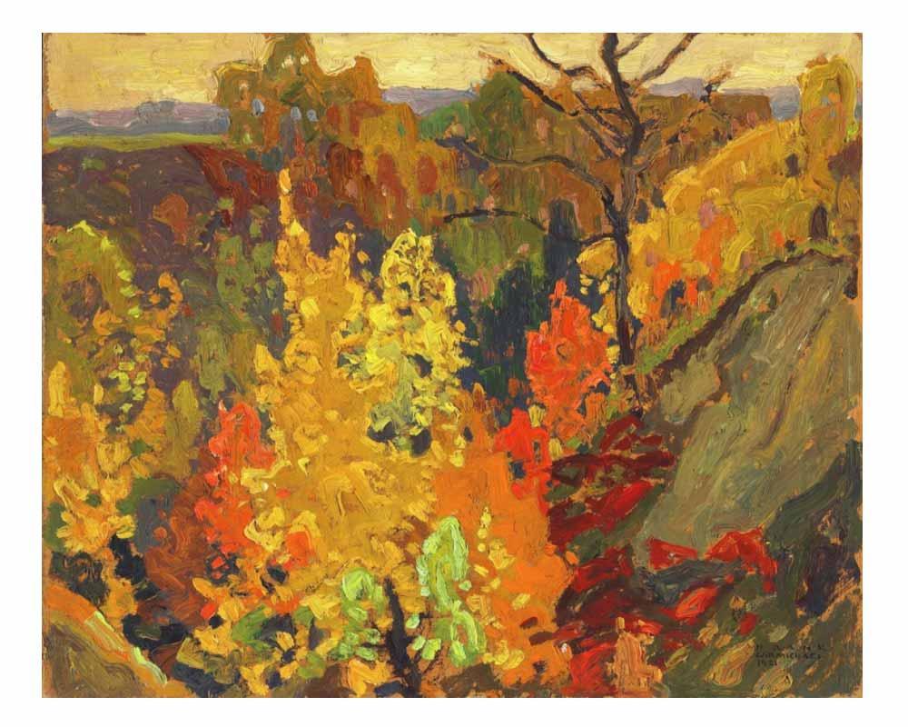 Autumn, 1921