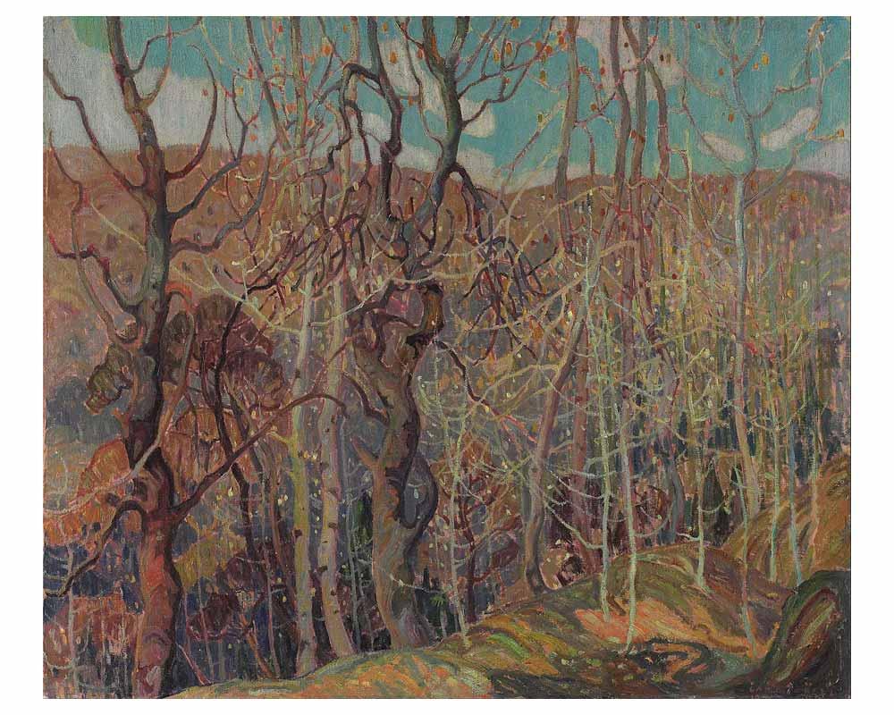 Silvery Tangle, 1921