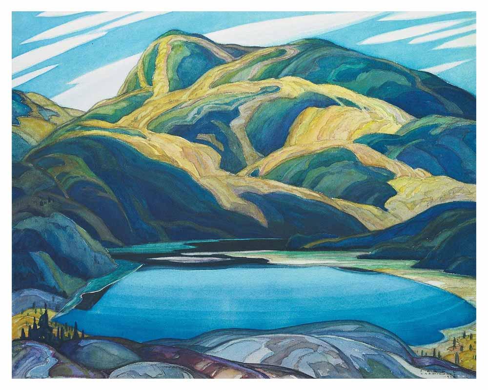 Lone Lake, 1929