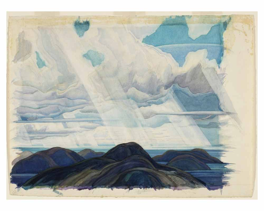 Snow Flurries, North Shore of Lake Superior, 1930