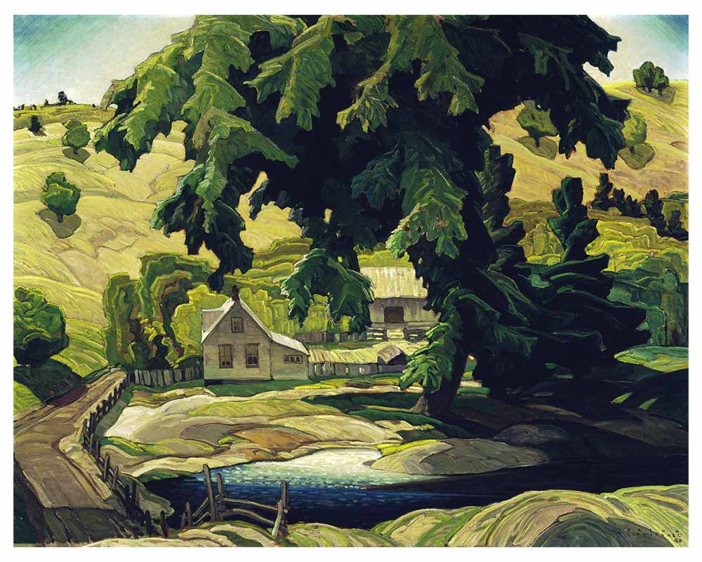 Farm, Haliburton, 1940