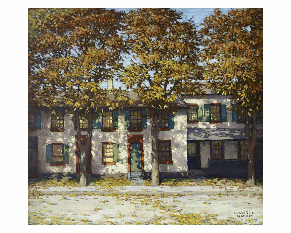 Houses on Richmond Street, 1911