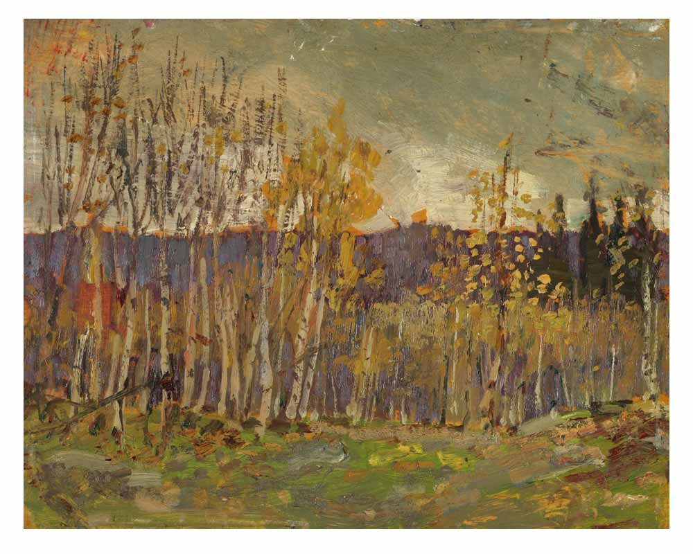 Poplars, 1914