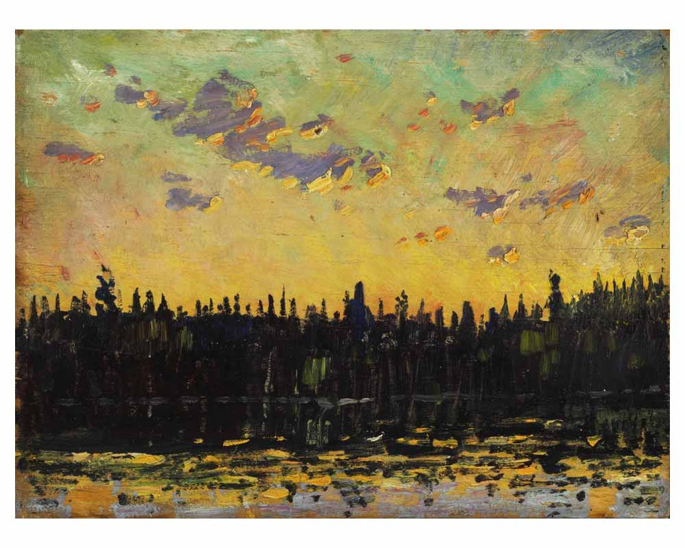 Sunset, 1914