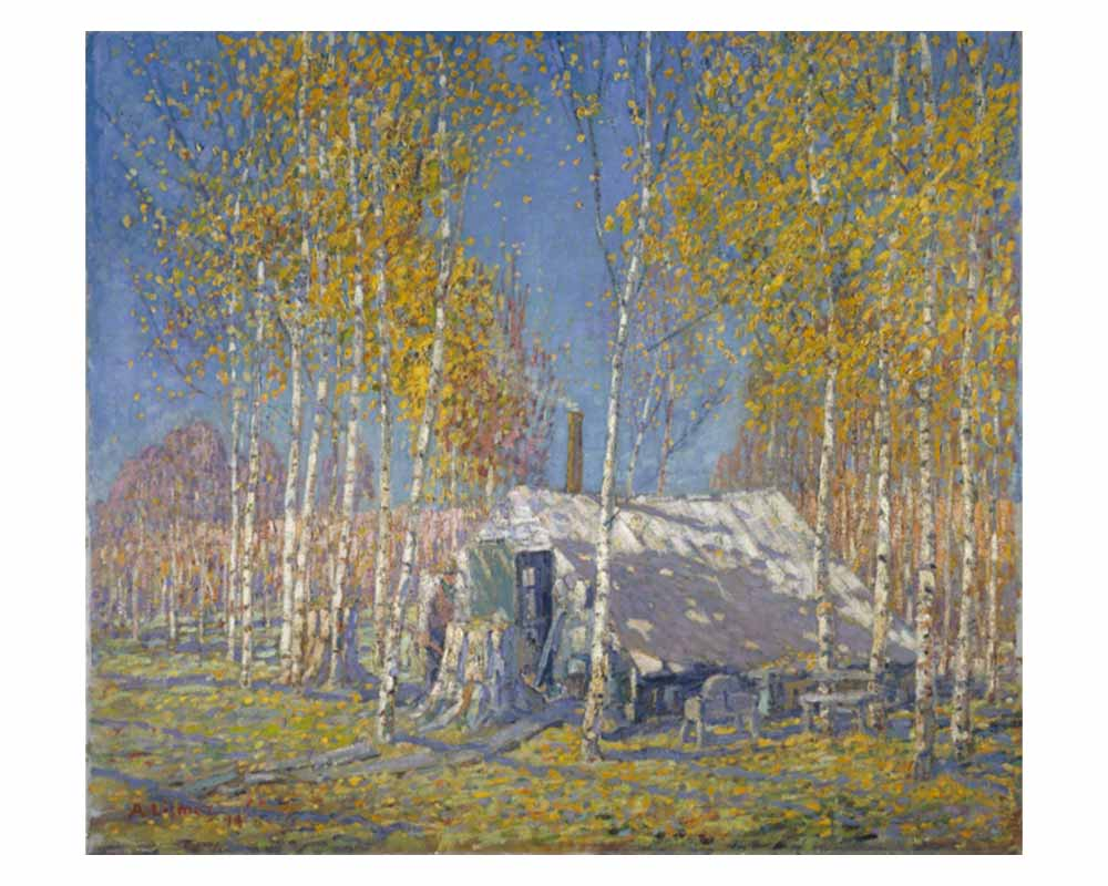 The Guide's Home, Algonquin, 1914