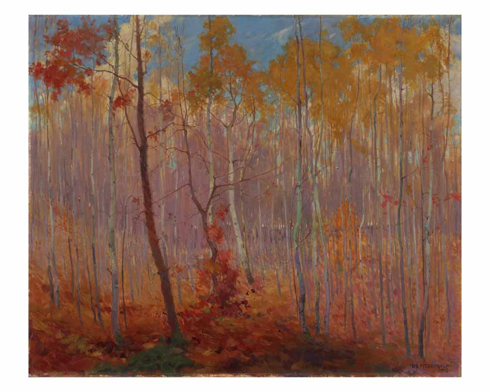 Late Fall, Manitoba, 1917