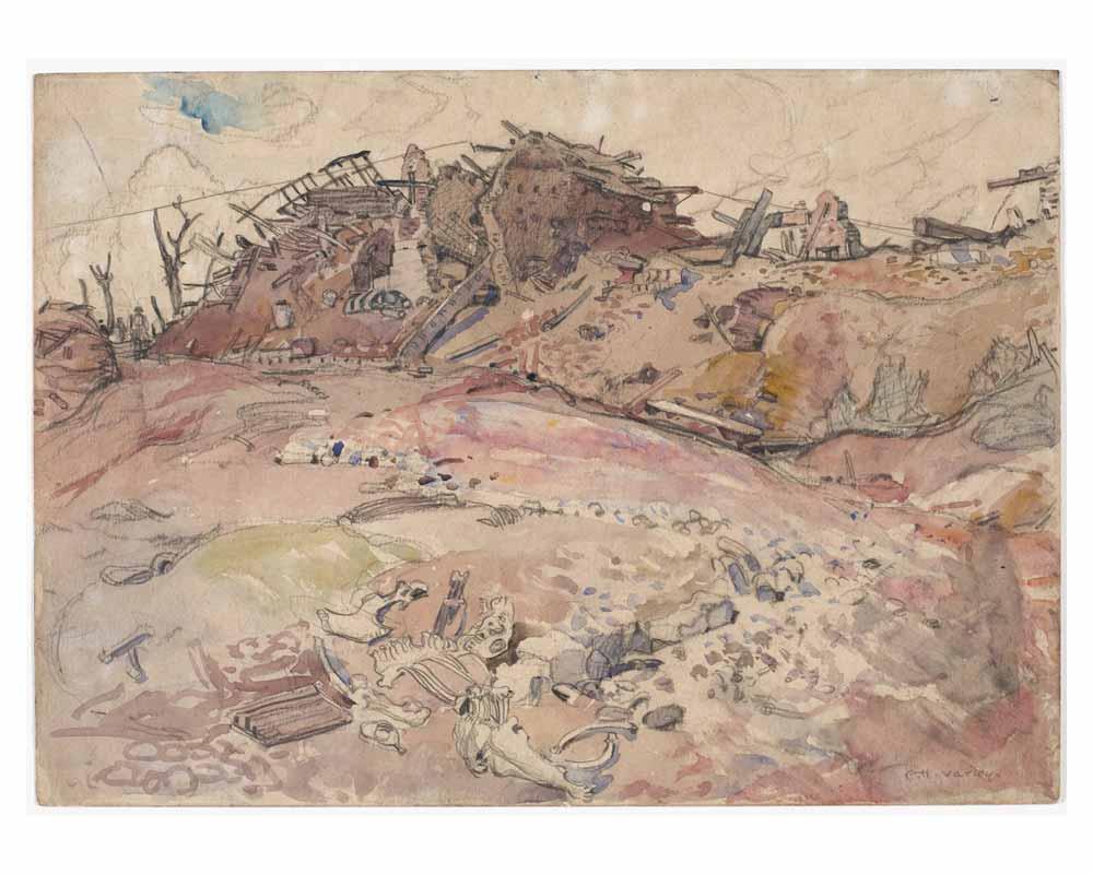 Dead Horse Square, Monchy, 1918