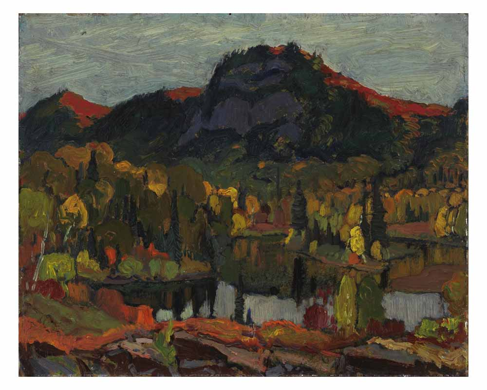 Gleams on the Hills (I), 1916