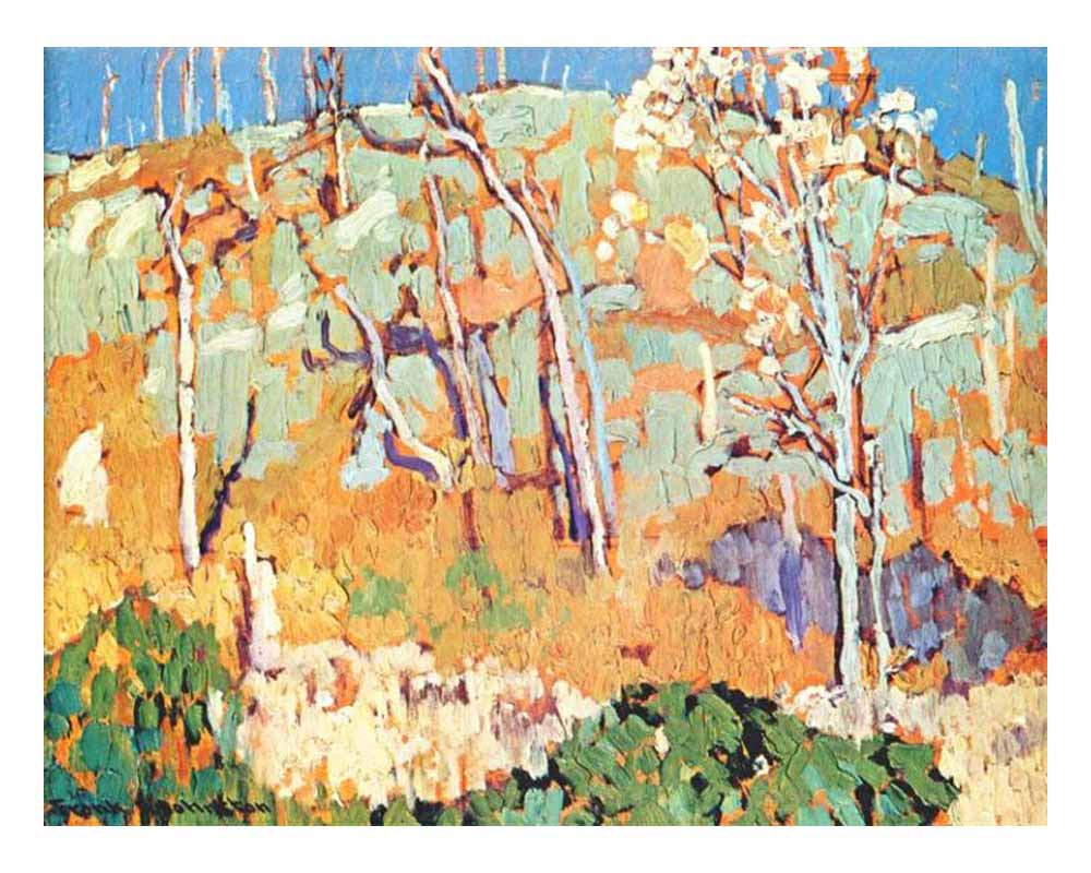 Patterned Hillside, 1918