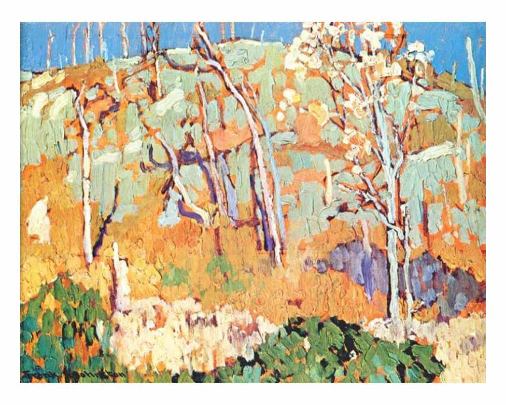 Patterned Hillside, 1918