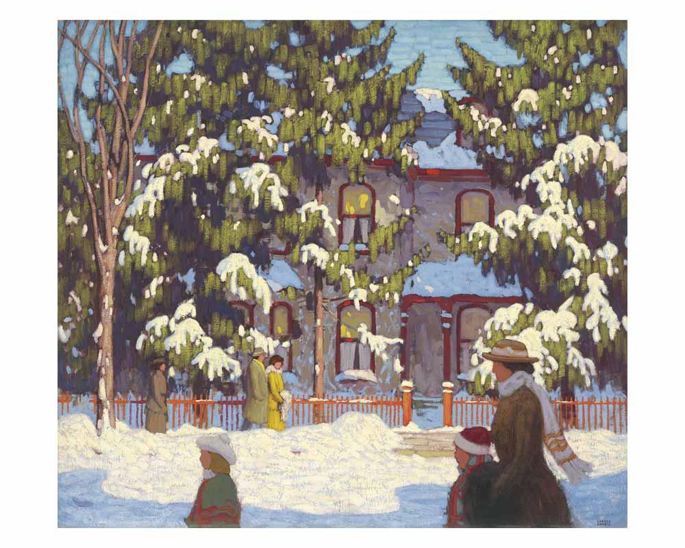 Winter Afternoon, City Street, Toronto, 1918