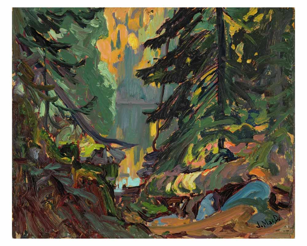 Near Montreal Lake, Algoma, 1919