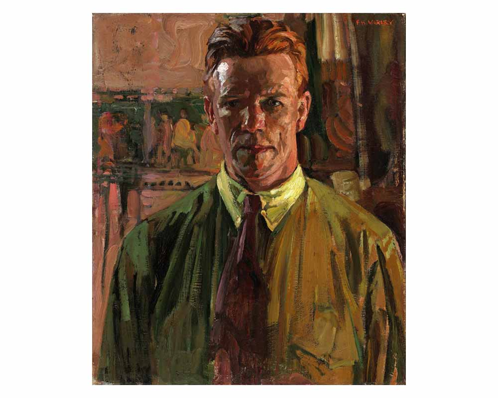 Self-portrait, 1919