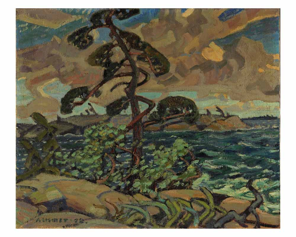 A September Gale, Georgian Bay, 1920
