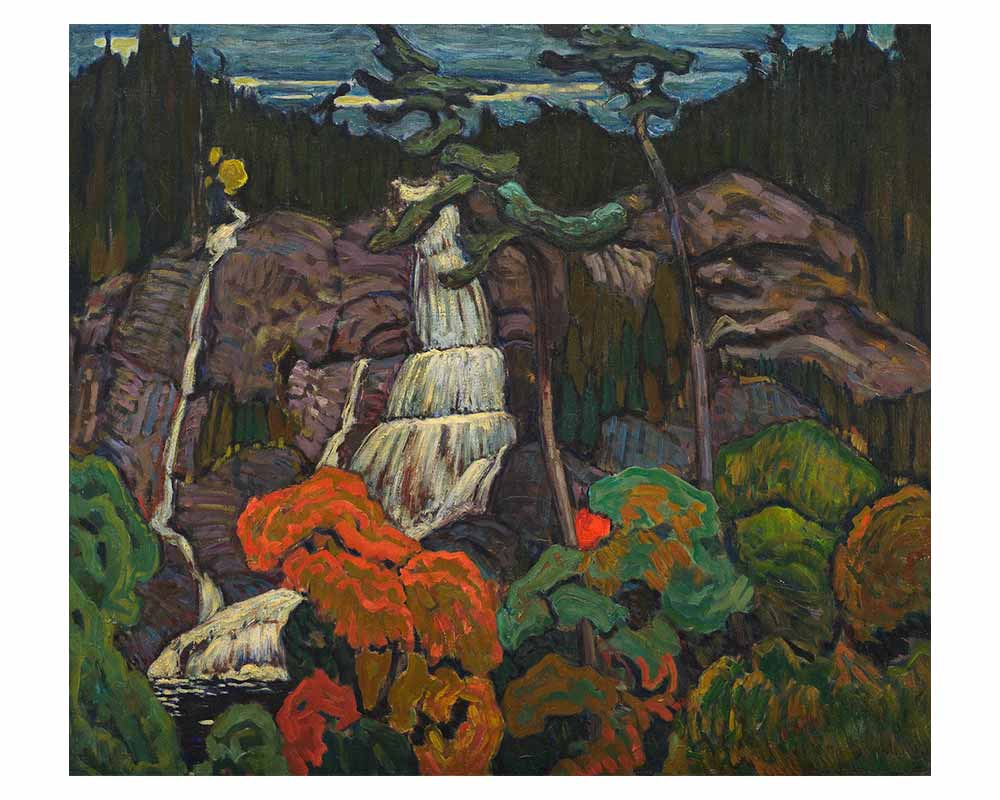 Algoma Waterfall, 1920
