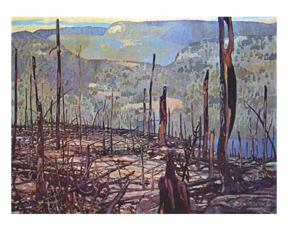 Fire Swept Algoma, 1920