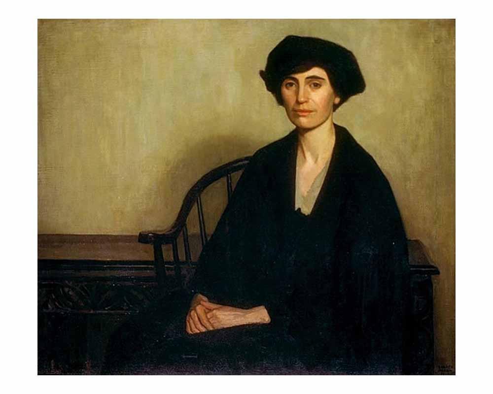 Mrs. Oscar Taylor, 1920