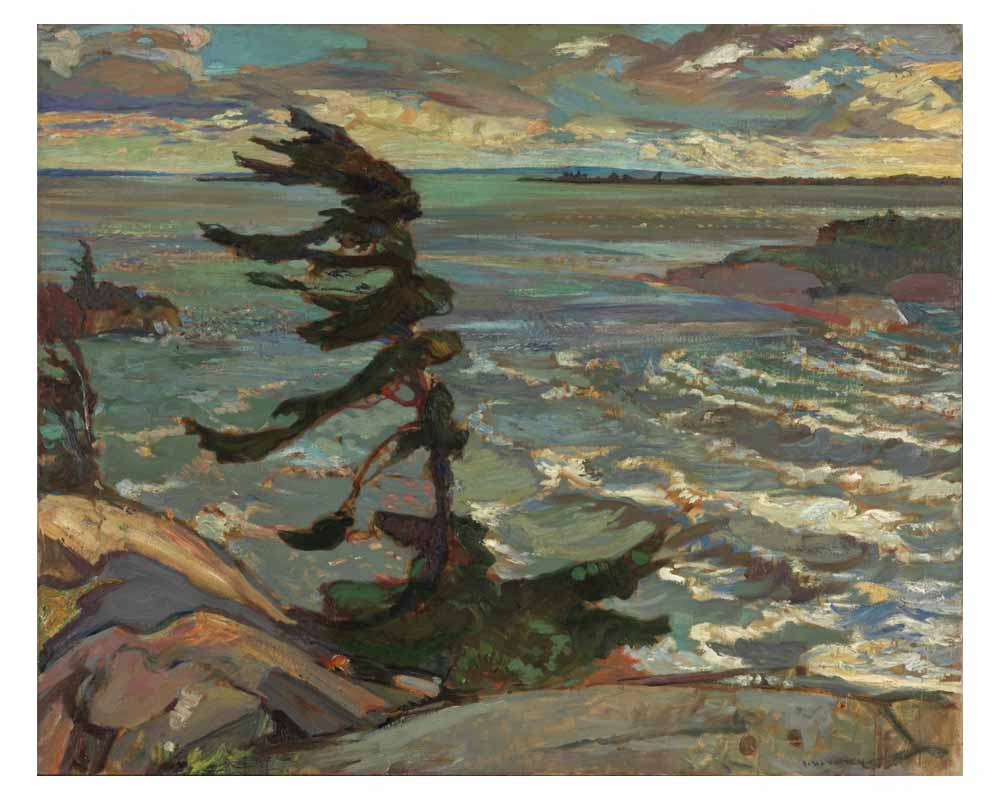 Stormy Weather, Georgian Bay, 1921