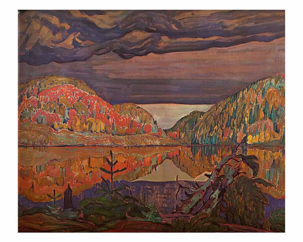 October Shower Gleam, 1922