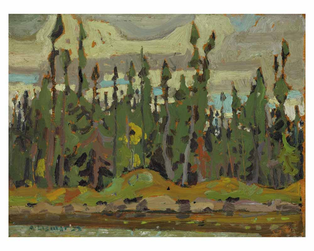 Spruce, Sand Lake, Algoma, 1922