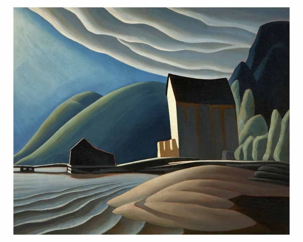 Ice House, Coldwell, Lake Superior, 1923