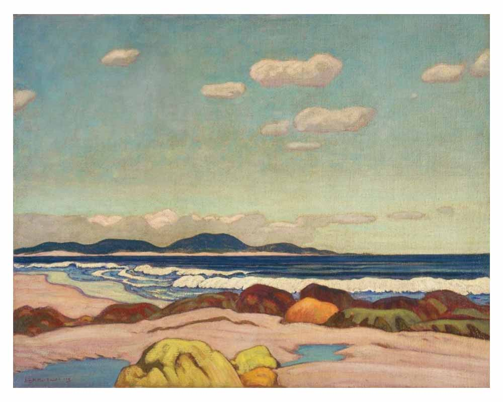 Seashore, Nova Scotia, 1923