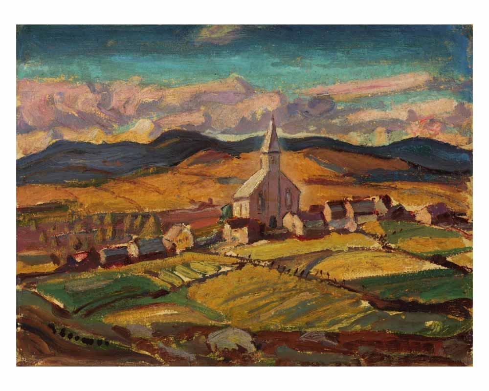 Quebec Village, St. Hilarion, 1925