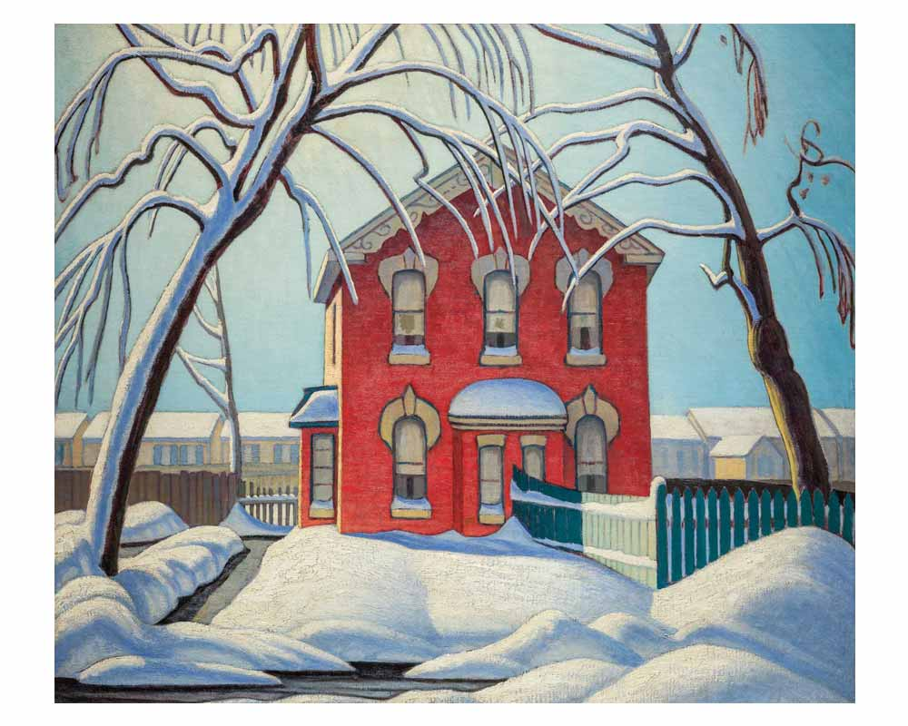 Red House, Winter, 1925