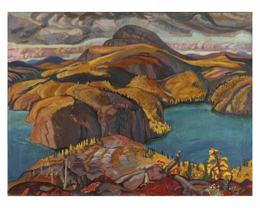 October on the North Shore, Lake Superior, 1927